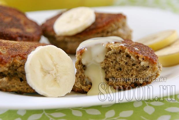 оладьи с овсянкой и бананом фото 10