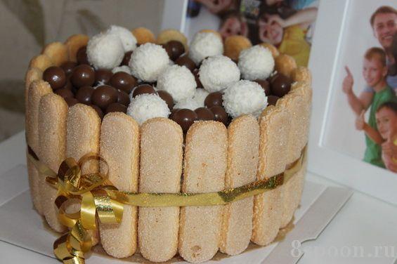 Украшение домашних тортов