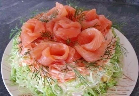 Новогодний салат «Королевская шуба»