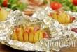 Картошка гармошка в духовке фото