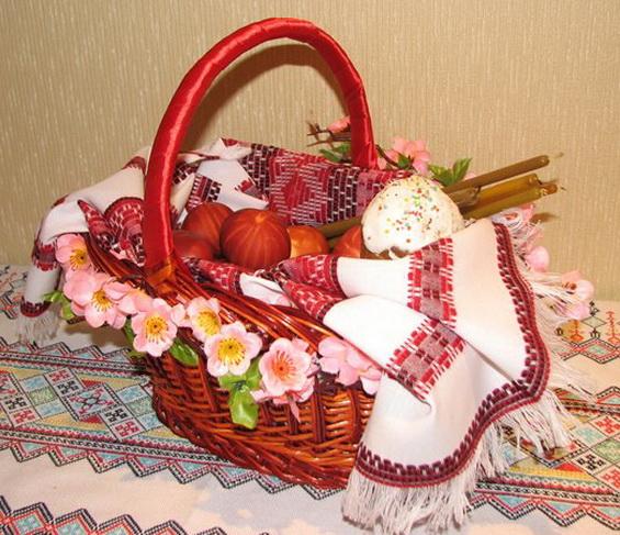 Украшаем пасхальную корзину: идеи декора с фото