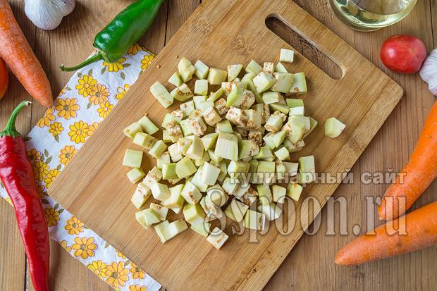 Салат из баклажан на зиму «Кубанский» фото_08