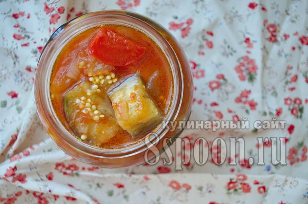 Соте из баклажанов на зиму- рецепт с фото_08