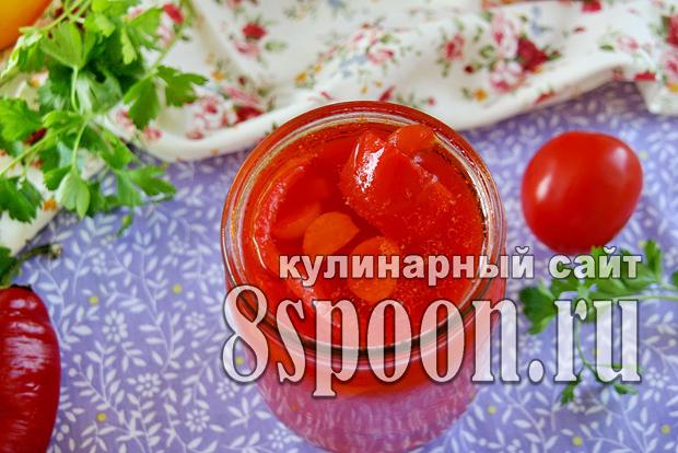 Лечо на зиму из болгарского перца фото_8