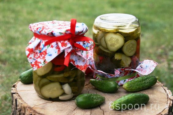 салат из огурцов и перцев фото 3
