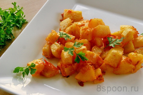картошка с паприкой фото 14