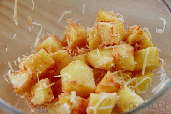 картошка с паприкой фото 6