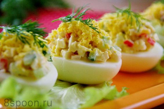 яйца фаршированные фото 18