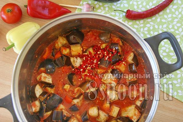 Баклажаны в томатном соке на зиму рецепт с фото_09