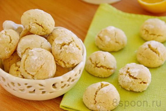 Лимонное печенье фото 19