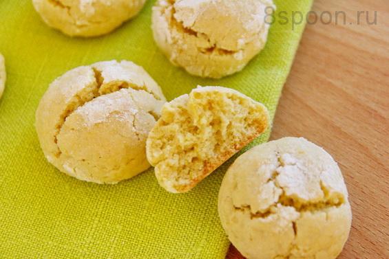 Лимонное печенье фото 22