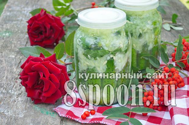 Огурцы в собственном соку на зиму фото_8