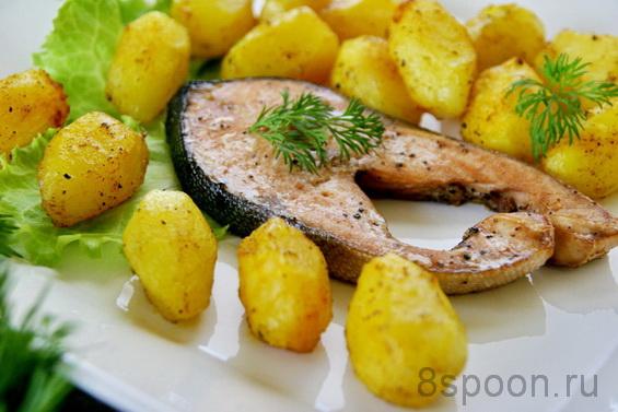 горбуша с картофелем фото 10