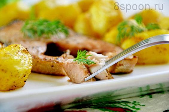 горбуша с картофелем фото 14