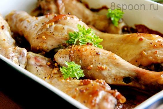 Куриные ножки в духовке с хрустящей корочкой