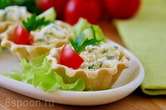 тарталетки с фетой и помидорами фото 14
