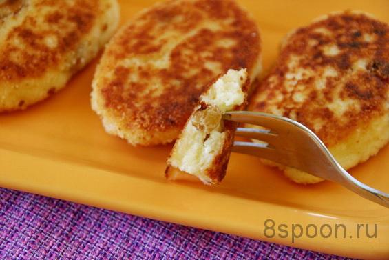 Сырники с изюмом фото 14
