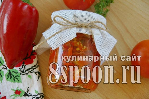 Салат из помидор на зиму «Радость лета» фото_01