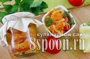 Салат на зиму из овощей «Овощной каприз» фото_01