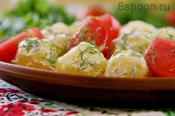 Картофель с укропом фото 8
