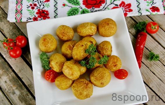 Картошка в духовке фото 13