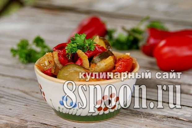 Салат на зиму из овощей «Свежесть» фото_1
