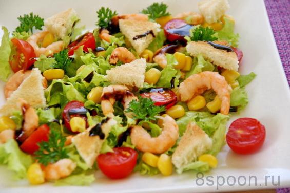 Салат с креветками фото 15
