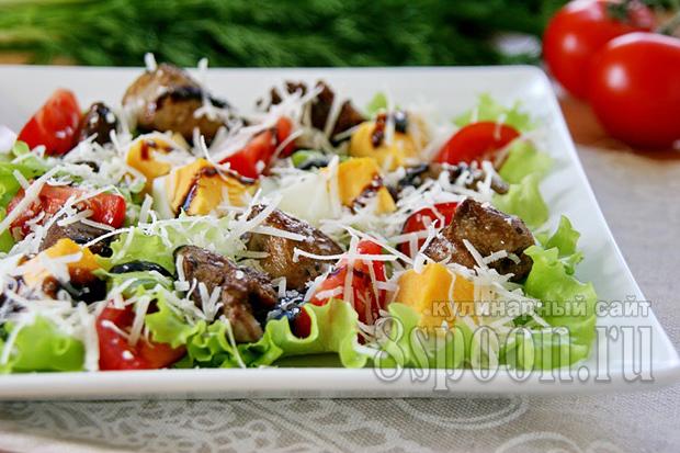 салат с печенью фото 10