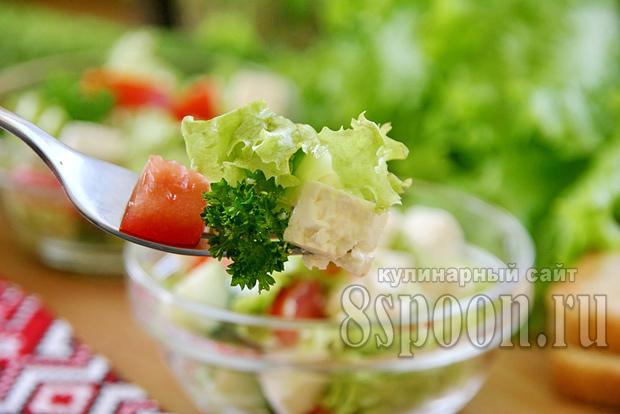 салат с фетаксой фото 8