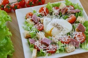 салат с яйцом пашот фото 12