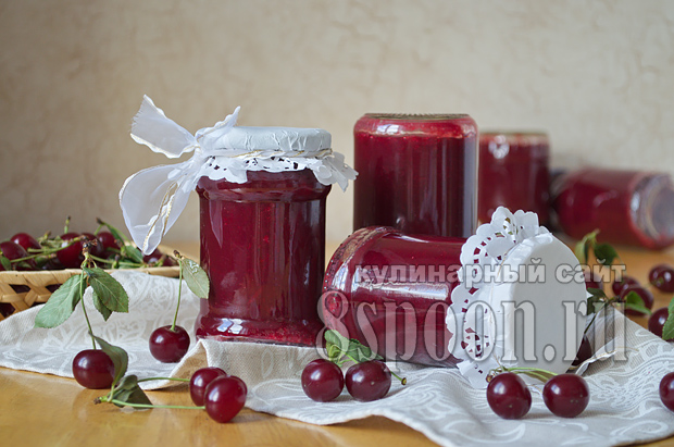 Джем из вишни на зиму- рецепт с фото_11
