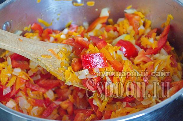 Лечо из болгарского перца на зиму с фасолью рецепт с фото_04