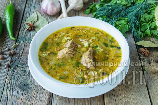 Суп харчо классический рецепт с фото пошагово_02