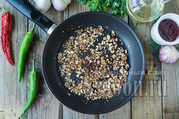 Суп харчо классический рецепт с фото пошагово_07