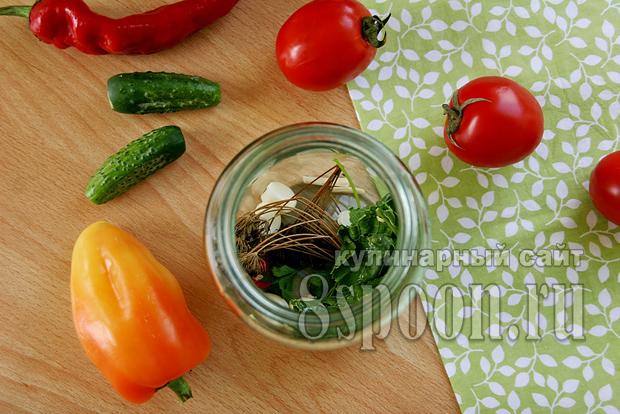 Ассорти овощное на зиму фото 2