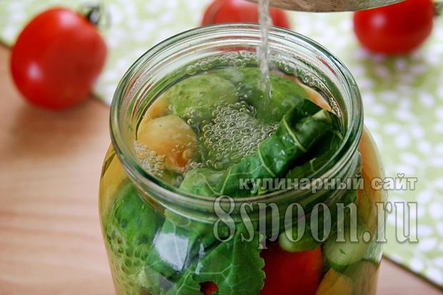 Ассорти овощное на зиму фото 4
