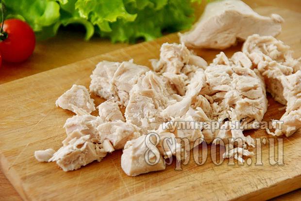 Куриный паштет из грудки рецепт с фото _04