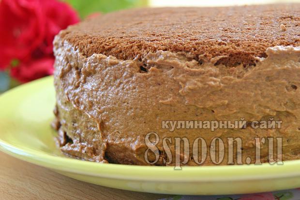 Торт пражский рецепт с фото пошагово _03