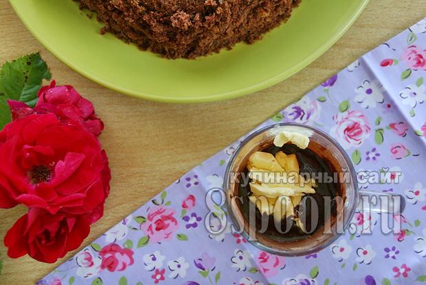 Торт пражский рецепт с фото пошагово _05