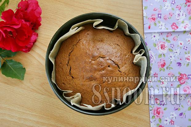 Торт пражский рецепт с фото пошагово _15