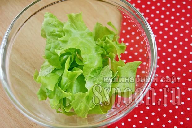 салат с перепелиными яйцами фото 1
