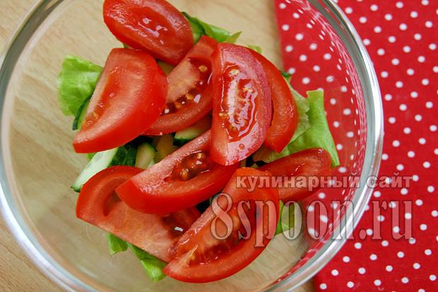 салат с перепелиными яйцами фото 4