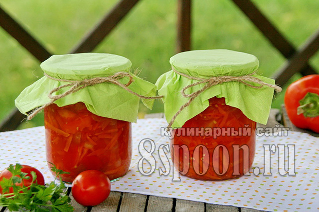 Лечо с морковью и луком рецепт с фото_01