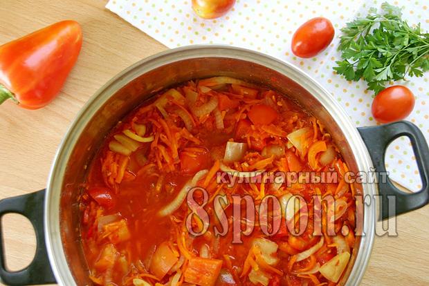 Лечо с морковью и луком рецепт с фото_08