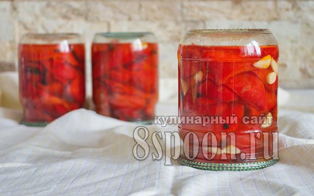 Жареный перец на зиму рецепт с фото_09