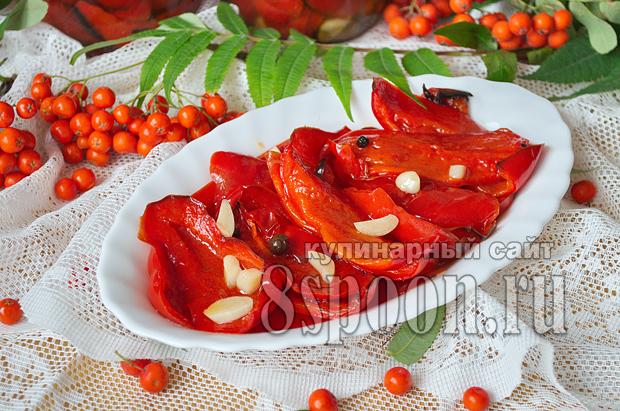 Жареный перец на зиму рецепт с фото_12