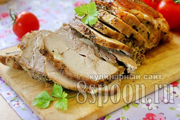 Буженина в духовке в фольге пошаговый рецепт с фото_05