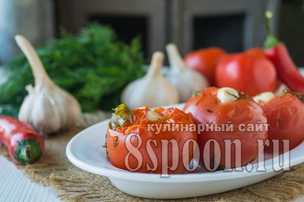 Малосольные помидоры- рецепт с фото_1