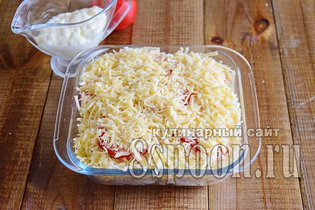 Филе трески в духовке рецепт с фото _5