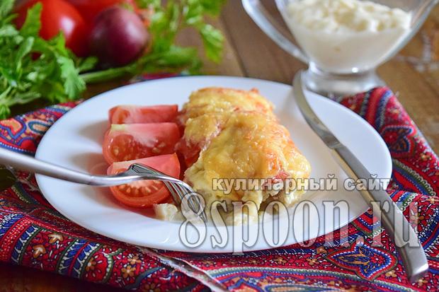 Филе трески в духовке рецепт с фото _7